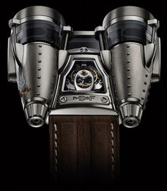 MB Razzle Dazzle Watch, designed to look like a WWII bomber plane!
