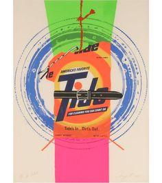 Image detail for -James Rosenquist Tide Screenprint 1975 | Antique Helper