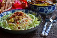 Violet's Kitchen ~♥紫羅蘭的爱心厨房♥~ : 肉干炒饭 Bak Kwa Fried Rice