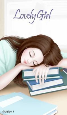 Discover and share the most beautiful images from around the world Korean girl painting books reading Lovely Girl Image, Girls Image, Anime Art Girl, Manga Girl, Anime Korea, Cute Cartoon Girl, Cute Girl Drawing, Girly Drawings, Cute Girl Wallpaper