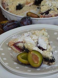 Kouzlo mého domova: Kynutý koláč se švestkami, tvarohem a mákem