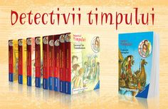 Detectivii timpului - recomandare cărţi pentru copii!