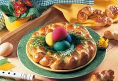 A Trilingual Open Meeting and Kalo Pascha! Orthodox Easter, Easter Wallpaper, Serbian Recipes, Food Categories, Bread Rolls, Easter Recipes, Desert Recipes, Sweet Bread, Easter Eggs