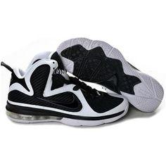 Nike LeBron 9 Black White Sport Nike Nfl 2afeded02945