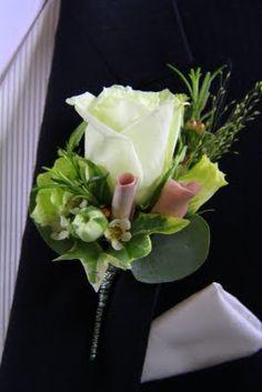 Green Tea Rose, Amnesia Rose Rolled Petals and wax flower petals