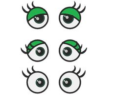 Your Toy eyes - frog eyes applique -machine embroidery applique designs - 3 types 3 and 4 inches Machine Embroidery Applique, Embroidery Files, Embroidery Patterns, Frog Eye, Cartoon Eyes, Animal Games, Memory Games, Felt Fabric, Stitch Design
