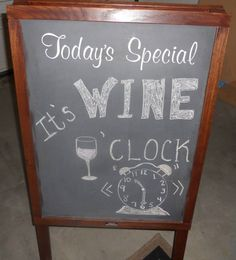 Chalkboard, wine, Mirassou Wine, Dinner Party, Garage Party, #MirassouDinner