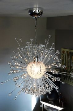 Transform the IKEA Stockholm Lamp into a Sputnik-Style Chandelier ...