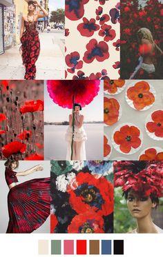 #ranitasobanska #fashion #inspirations POPPY FIELDS