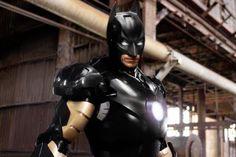 Mashup Batman - Iron Man - SlyGeek