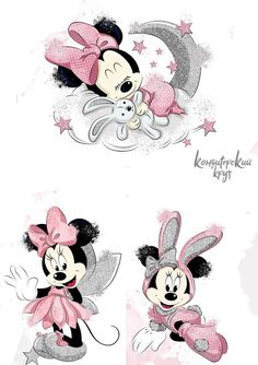 Arte Do Mickey Mouse, Mickey Mouse Drawings, Mickey Mouse Wallpaper, Disney Wallpaper, Disney Drawings, Cartoon Wallpaper, Cute Drawings, Minnie Mouse Nursery, Minnie Mouse Stickers