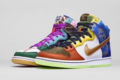 """What The Doernbecher"" Nike Dunk High SB"