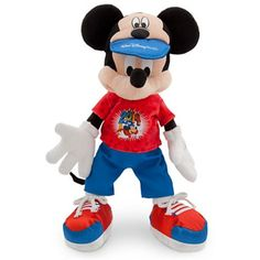 Walt Disney World 2014 12 inch Mickey Mouse Plush Doll NEW -- Check out this great product. (This is an affiliate link) #Puppets
