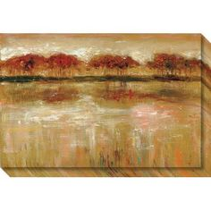 Red Barrel Studio Paxton Cove Painting Print on Wrapped Canvas
