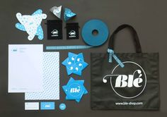 Blé | Porto | Portugal  Professional Project, developed in partnership with Pegada Criativa  Brand Identity | Packaging  www.ble-shop.com    July 2012