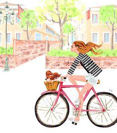 New Work 「春」 | masaki ryo : illustrator : illustration
