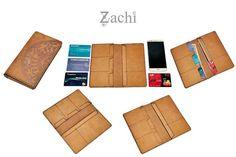 Long Leather Wallet by MyBoyfriendCloset on Etsy