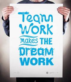 Team Work Makes The Dream Work - So True In #NetworkMarketing