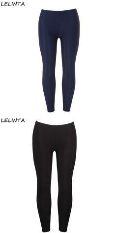30b0c8e078cfd Women s black sportes pants high waist tummy control shapewear ankle legging  leggings woman pants elastic stretch pant  spandex