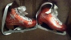 A pair of skates I painted for a friend.