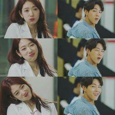 "park shin hye & ji soo as gangster buddies in kdrama ""doctors"""