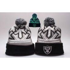 NFL Oakland Raiders Beanies Knit Reflector Cap