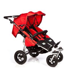Take a look at this Red Twinner Twist Duo Stroller by Trends for Kids on #zulily today!  twin stroller