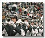 Michigan State University Spartan Marching Band, the nation's finest.