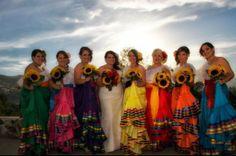 Mexican Bridesmaids