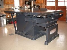 """Oliver Machinery Co. - 88-DY, 18"""" table saw"""