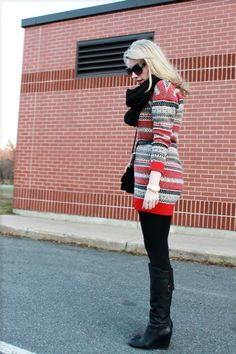 Such a cute, wintery sweater dress! (River Island (ASOS))