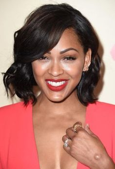 19 Gorgeous Short, Black Hairstyles: Meagan Good http://postorder.tumblr.com/post/157432731304/shag-hairstyles-for-women-over-50-short