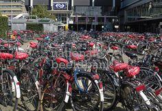 Hoe zorgt de gemeente ervoor dat er straks, ondanks de ondergrondse stalling, geen fietsen meer geparkeert/gedumpt worden op het plein?    Door bewaking aan te schaffen bij de stalling en op het plein. Desnoods handelt de politie wat strenger in de toekomst naar mensen die hun fietsen hier achterlaten.