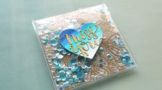 Fused Shaker Card with Embossed Vellum – kwernerdesign blog