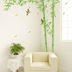 Bamboo Wall Decal Part 19
