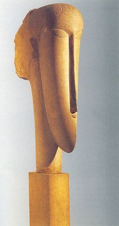 Amedeo Modigliani, Female Head, 1911/1912, Tate