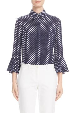 Main Image - Michael Kors Silk Georgette Blouse