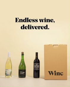 Winc makes it easy to explore the world of wines. Wine delivery includes a box to your doorstep each month, with shipping included and no hidden fees. Start here for a bottle of Winc wine on the house! Ads Creative, Creative Video, Creative Advertising, Stop Motion Photography, Commercial Photography, Wine Advertising, Food Graphic Design, Logo Design, Wine Packaging