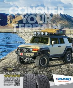 Overland Journal Ad, Conquer Your Terrain, WildPeak