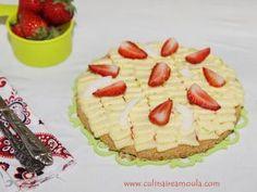 Tarte citron, fraises et noix de coco • Hellocoton.fr