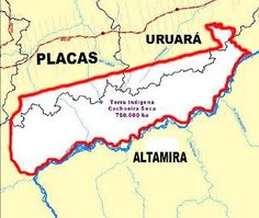 Cerca de 1.300 famílias de agricultores de Uruará, Placas e Altamira, perderão suas propriedades para a reserva indígena Cachoeira Seca. Leia no blog http://joabe-reis.blogspot.com.br/2015/08/cerca-de-1300-familias-de-agricultores.html