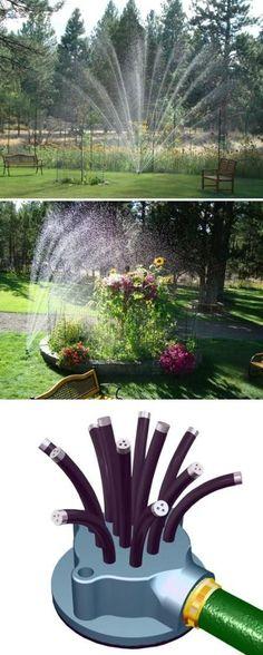 Noodlehead : Flexible Lawn Garden Sprinkler Unique Gardens, Home And Garden, Lawn