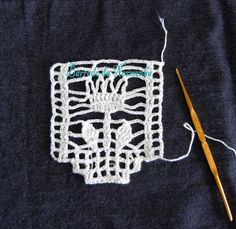 WORKSHOP OF BARRED: crocheting another Barrado. . .