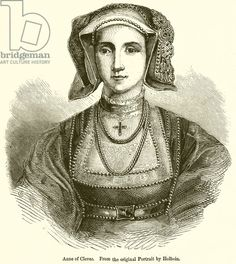 Anne of Cleves. Illustration from John Cassell's Illustrated History of England (W Kent, Digitally cleaned image History Of England, Tudor History, Anne Of Cleves, King Queen, Medieval, 19th Century, Mona Lisa, Royalty, Times