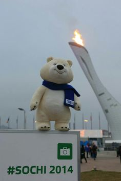 The olimpic bear!! Just love it!