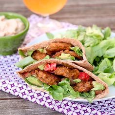 5 brown-bag lunches to spice up your midday meal (like these Zucchini and Chickpea Baked Falafels). #healthyrecipes #lunchrecipes #vegetarianrecipes #everydayhealth | everydayhealth.com