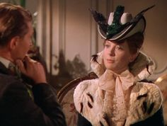 "The more war that happens in this movie the smaller and smaller Deborah Kerr's hats will become...From ""The Life and Times of Col. Blimp"""