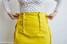 Arielle sewing pattern - How to fit the skirt