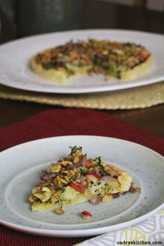 Roasted Brussels Sprouts & Apple Pizza with Caramelized Shallots More