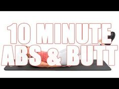 This 10 Minute abs and butt workout with me, Sydney Cummings, will take you through two groups of workouts with four different 30 second exercises within eac. 10 Minute Ab Workout, 10 Minute Abs, Butt Workout, Best Abdominal Exercises, Ab Exercises, Belly Fat Diet Plan, Standing Abs, Effective Ab Workouts, Youtube Workout
